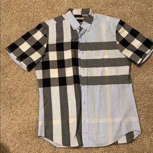 Short sleeve Burberry Button Up